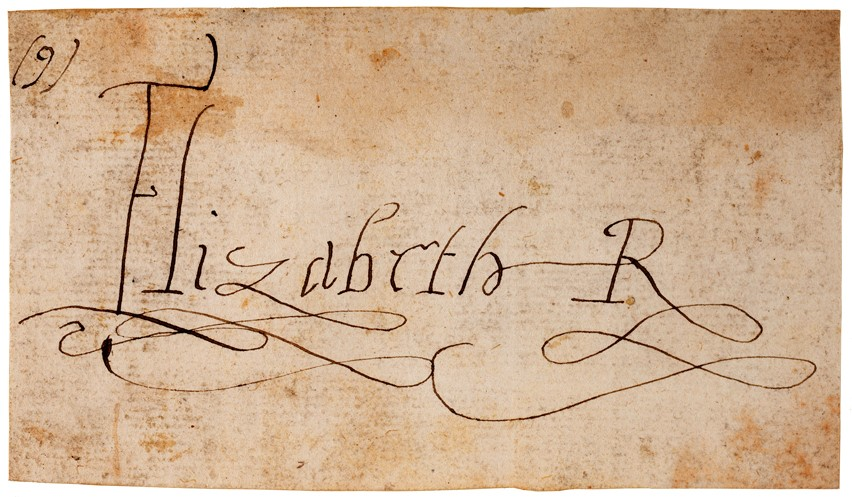 Signatures of 16th & 17th century England Image