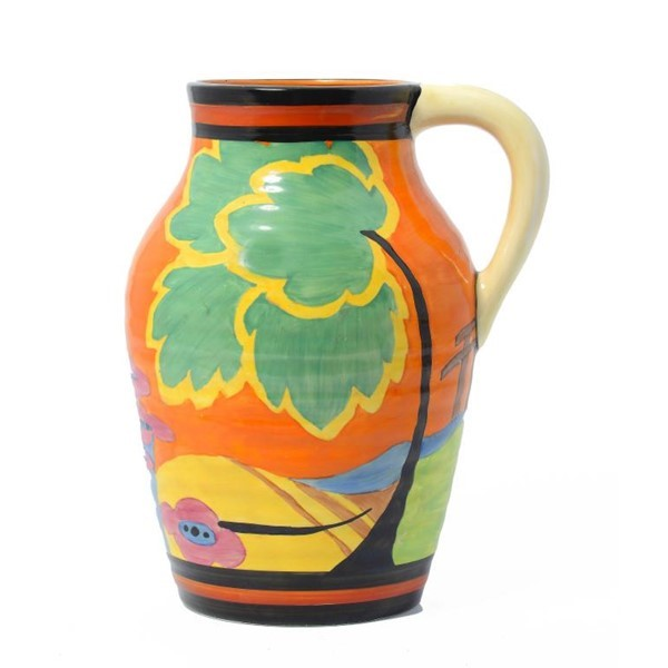 A J WILKINSON APPLIQUÉ MONSOON LOTUS JUG Image